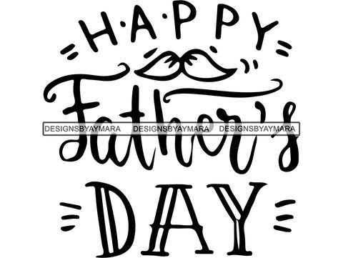 Happy Father's Day Quotes SVG