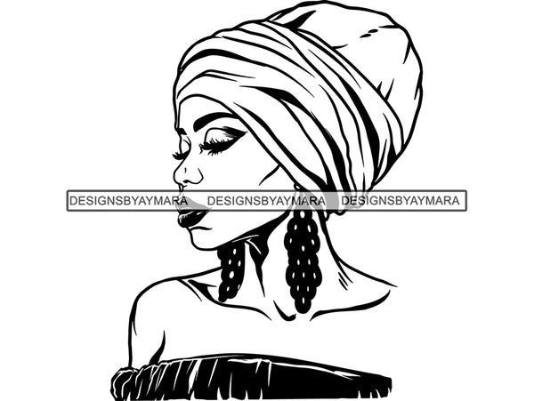 Afro Woman SVG Goddess African American Ethnicity Woman Power Independent Woman Afro Queen Diva Classy Lady SVG PNG EPS JPG Clipart Cutting Cut Cricut T-shirt Design