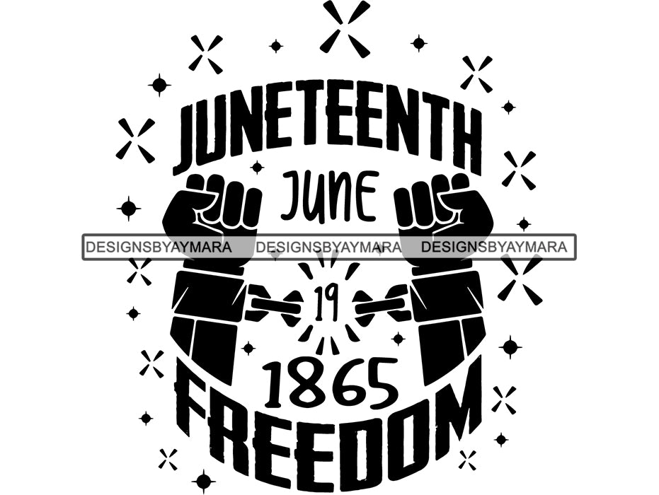 Juneteenth 2 Svg Quotes Cut Files For Silhouette And Cricut Designsbyaymara