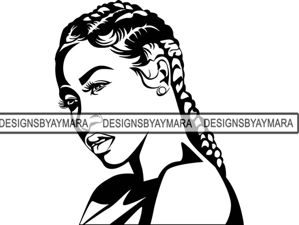Afro Woman SVG Fabulous African American Ethnicity Queen Diva Classy Lady .SVG .EPS .PNG Vector Clipart Cricut Circuit Cut Cutting