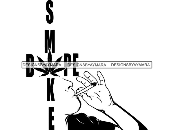 Man Smoking Blunt Weed Cannabis 420 Medical Marijuana Mary Jane Pot Stone High Life Smoker Smoking Smoke 420 Drug .SVG .EPS .PNG Vector Clipart Digital Download Circuit Cut Cutting