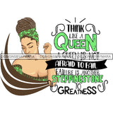Afro Lady Queen Goddess Melanin Nubian .PNG Print Files Not For Cutting