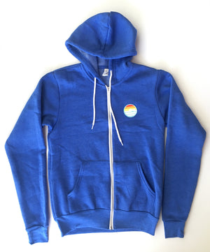 Traveler Patch Zip Hoodie