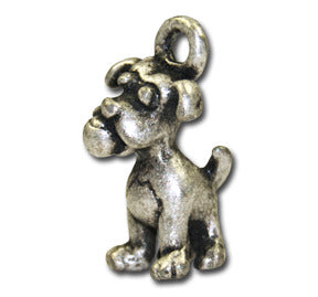 Love Balls!  KEYRING - Wear Me Out!, Antiqued Silver Plated Pewter Doggie Charm - dog charms, WMO! - Wear Me Out!, Wear Me Out! - mydoglulu