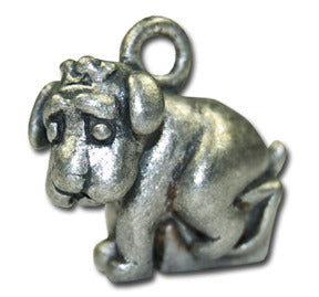 Am I too big for the carry bag?!  KEYRING - Wear Me Out!, Antiqued Silver Plated Pewter Doggie Charm - dog charms, WMO! - Wear Me Out!, Wear Me Out! - mydoglulu