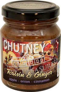 Chutney - Raisin & Ginger - Cape Treasures