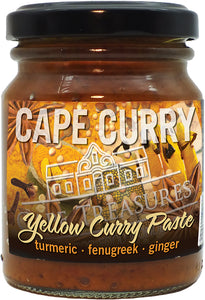 Curry Paste - YELLOW Curry - Cape Treasures