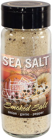 Sprinkle Salt - Smoked Salt with Onion & Garlic - Cape Treasures
