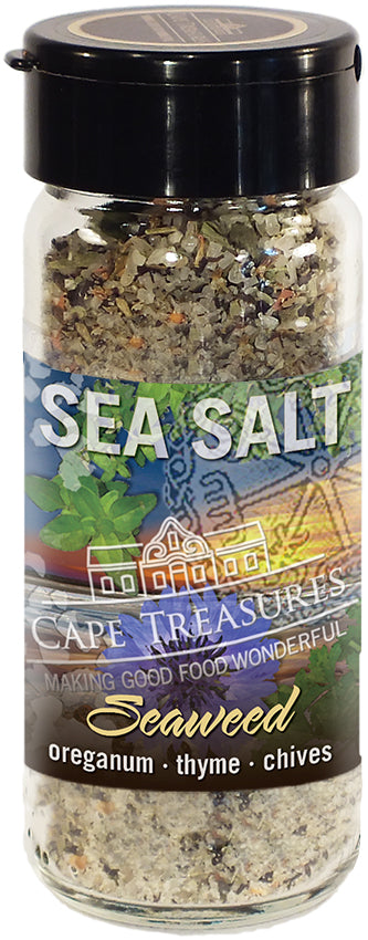 Sprinkle Salt - Khoisan Seaweed Salt - Cape Treasures