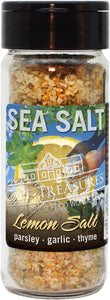 Sprinkle Salt - Lemon & Garlic Sea Salt - Cape Treasures