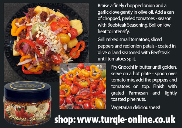 Seasoning Tub - BEEFSTEAK - Cape Treasures