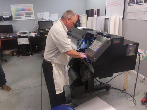 Routine Maintenance and consistently printing is the key to a long lasting solvent printer.