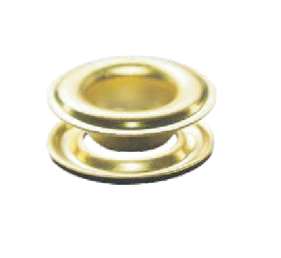GromFast Grommets #2 Brass - 500 sets/Bag Self-piercing