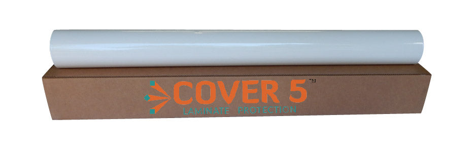 COVER 5 - Optically Clear Gloss Polyester Laminate, 1.5mil - 54