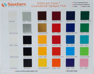 Display Color Chart