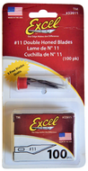 Blades - #11 Excel Replacement Blades for Hobby Knife 100/Pack