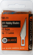 Blades - #11 Economy Replacement Blades for Hobby Knife 100/Pack