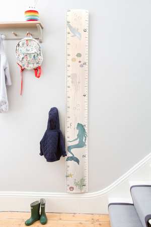 Bespoke Underwater Ruler Height Chart