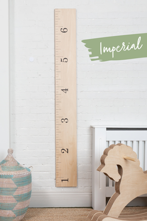 Paint Your Own Height Chart Kit