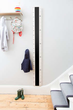 IMPERFECT - Chalkboard Ruler Height Chart - Putty