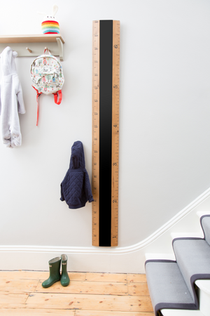 IMPERFECT - Chalkboard Ruler Height Chart - Fawn