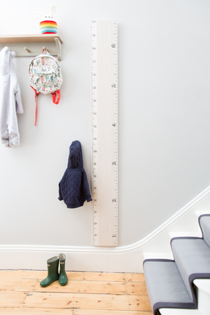 IMPERFECT - Ruler Height Chart - Putty