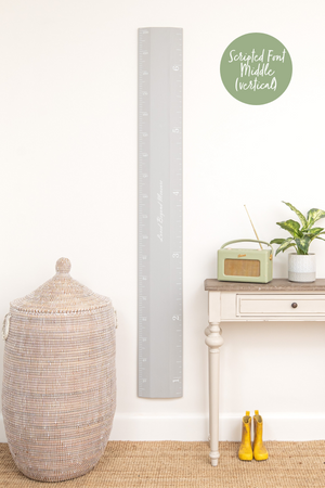 Pebble Ruler Height Chart