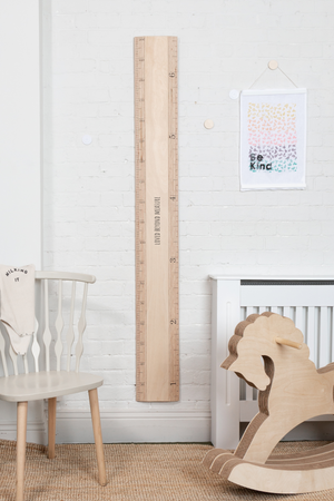 Scandi Ruler Height Chart