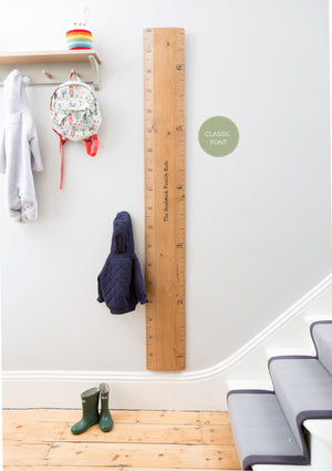 Ruler Height Chart - Fawn