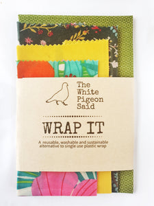 Beeswax Wraps 4 pack