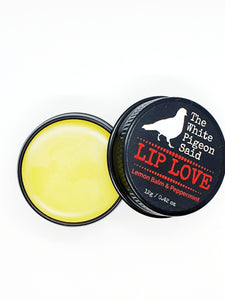 Lip Love Lip Balm | Lemon Balm lip balm | Peppermint Lip | Natural lip balm | Cold sores