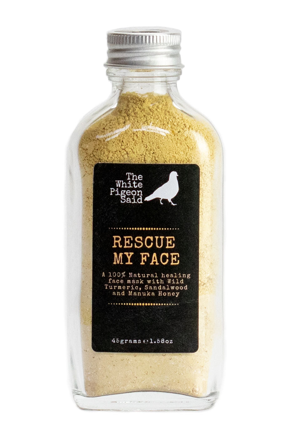Rescue My Face | Face Mask | Wild Tumeric | Sandalwood | Manuka Honey | Hemp Seed |  Detoxify | Healing | Anti Inflammatory |