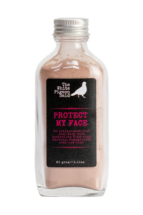 Protect My Face | Face Mask | Rosehip | Pomegrante Peel | Orange Peel | Anti Aging | rosacea | redness | fine lines