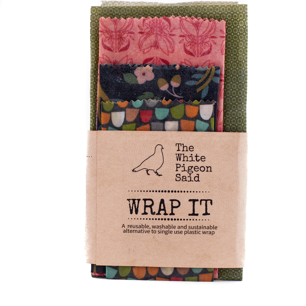 Beeswax Wraps | Eco friendly | Zero Waste | Hand Crafted |