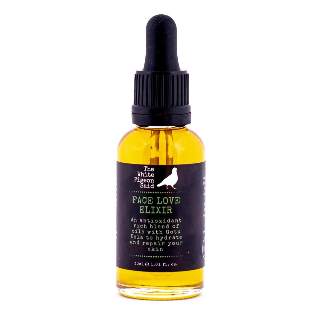 Face Love Elixir | Face Oil | Biochemist Formulated | Healthy Skin | Young Skin | Pomegrante Oil | Repair You Skin | Goto Kola | Clean Beauty | Hand Crafted | Mornington Peninsula