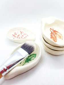 Powdered Masks with custom spoon and bamboo brush