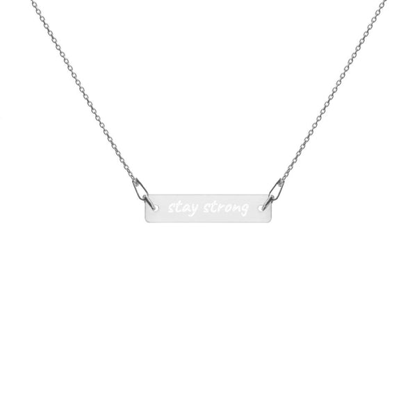 stay strong Necklace - PRALY