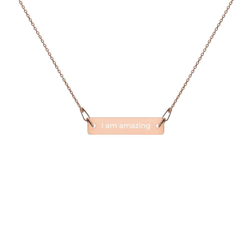 I am amazing Necklace - PRALY