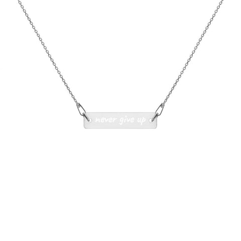 never give up Necklace - PRALY