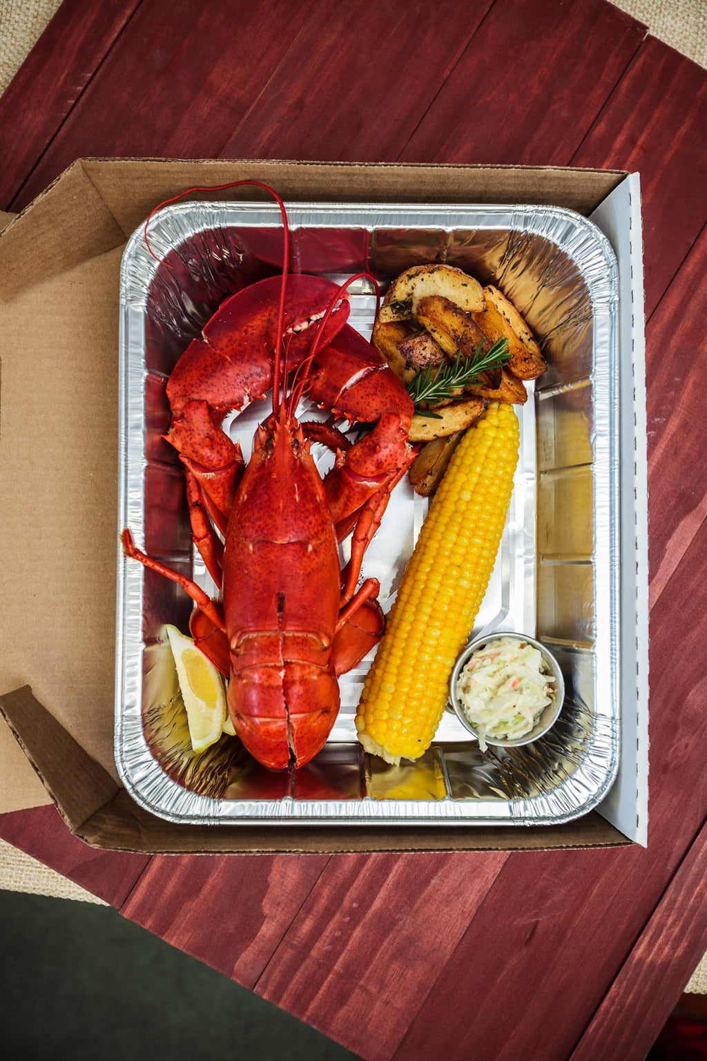 Lobster Dinners To-Go
