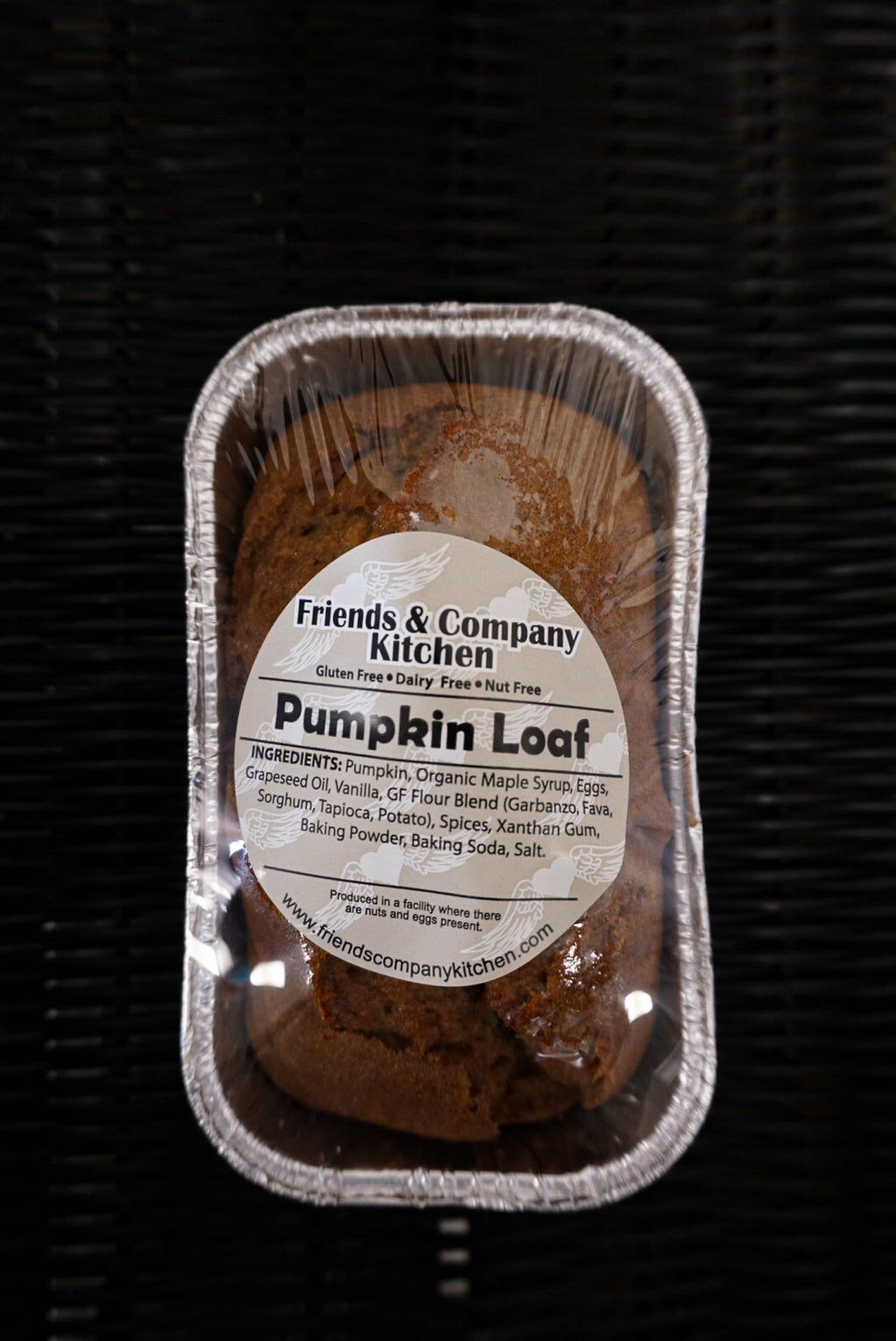 Friends & Company Kitchen Pumpkin Loaf - New Canaan