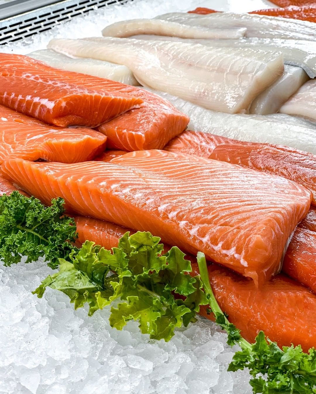 Wild King Salmon Fillet (Previously Frozen) - New Canaan
