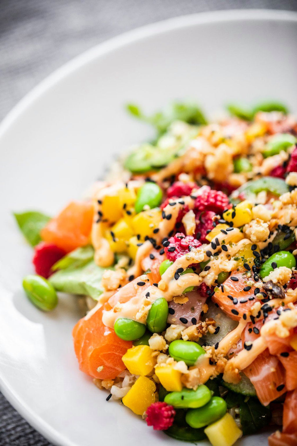 Build Your Own Poke Bowl - New Canaan