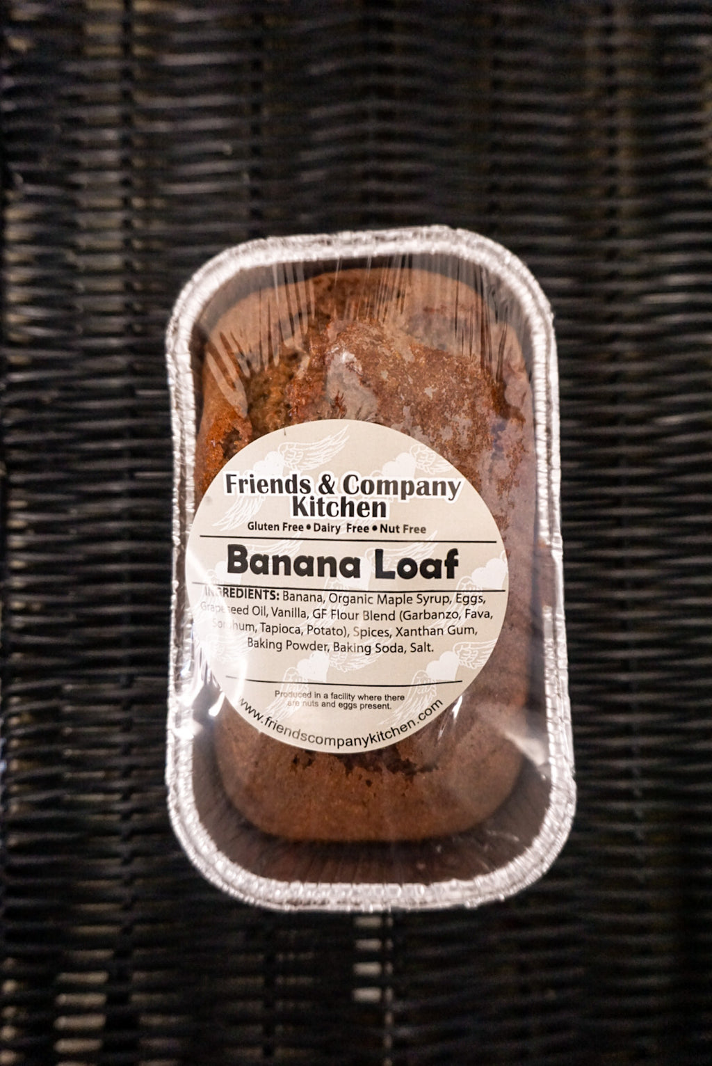 Friends & Company Kitchen Banana Loaf - New Canaan