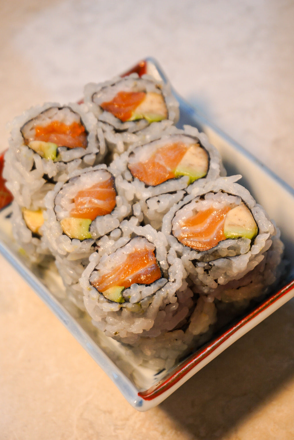 Salmon Avocado Roll - New Canaan