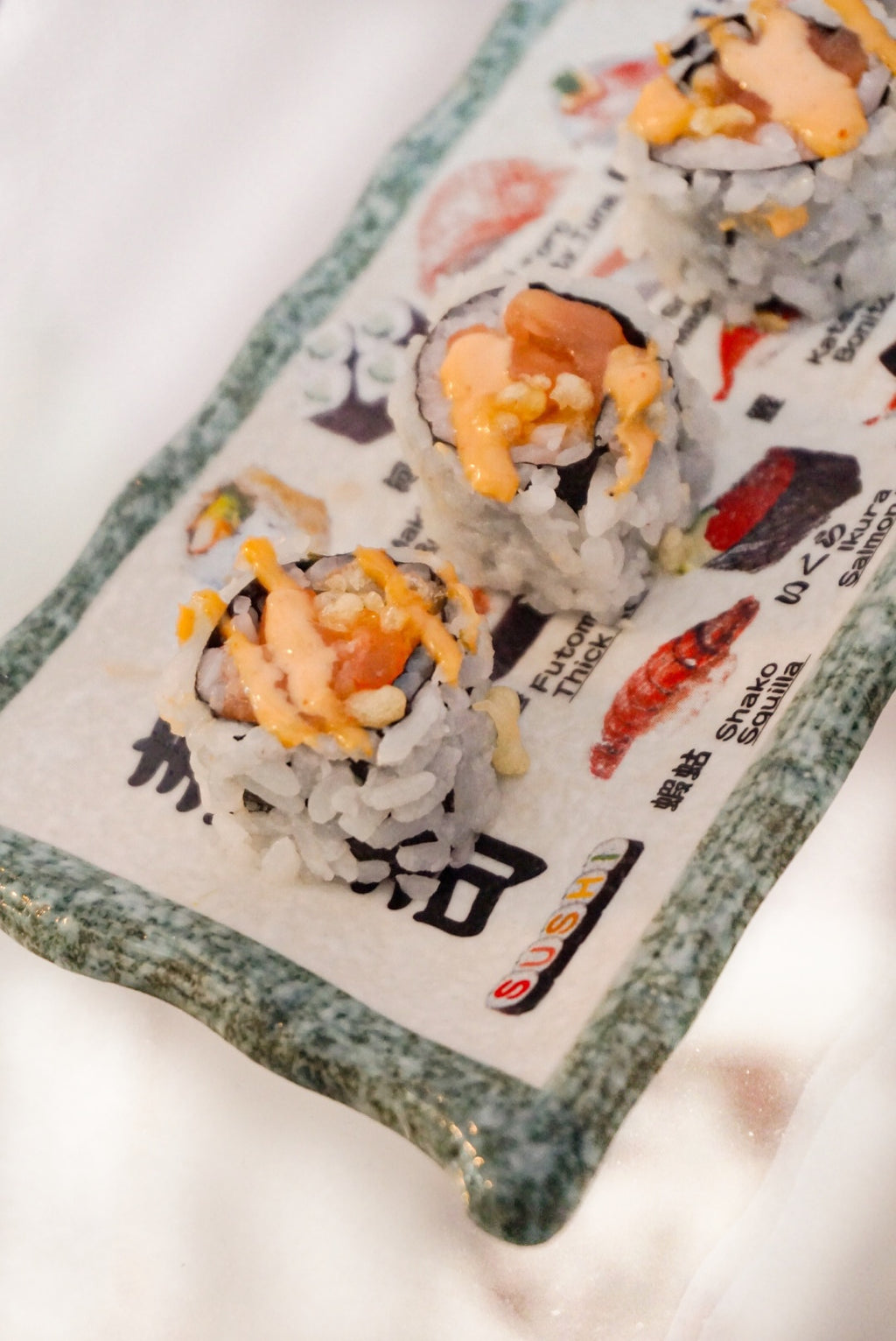 Crunch Spicy Salmon Roll