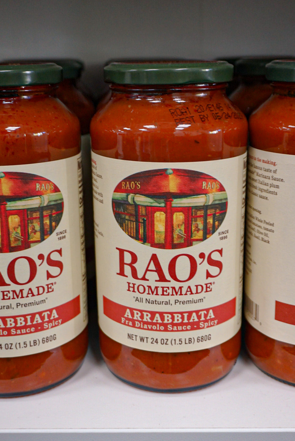 Rao's Arrabbiatta Sauce 24 oz. Jar - Westport