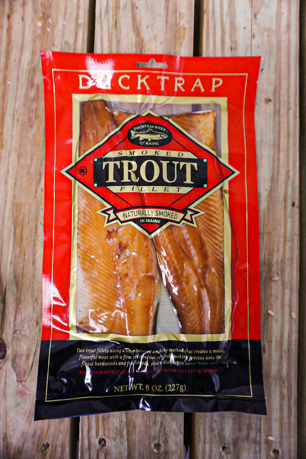 Duck Trap Smoked Trout