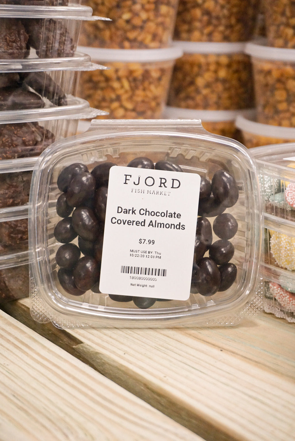 Dark Chocolate Covered Almonds - Larchmont