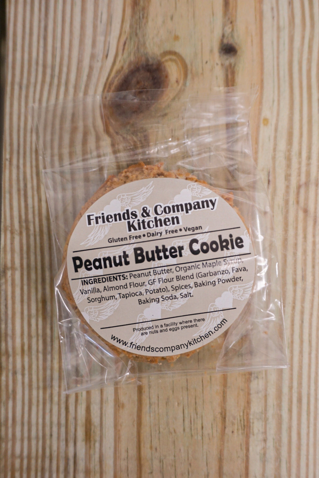 Friends & Company Kitchen Peanut Butter Cookie - Larchmont